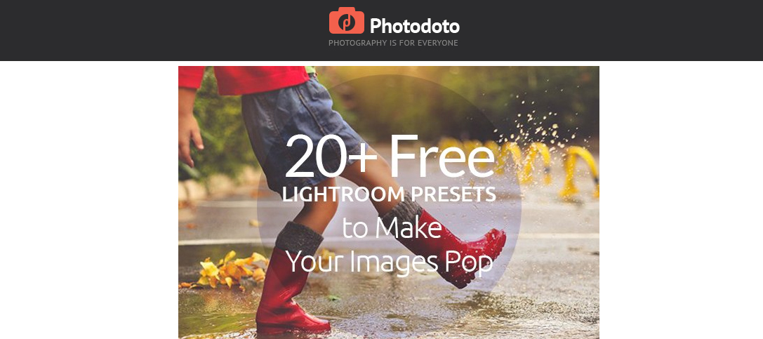 Photodoto Free Lightroom Presets