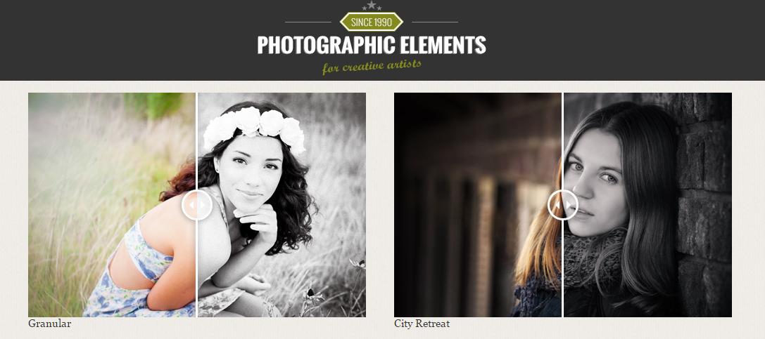 Photographic Elements