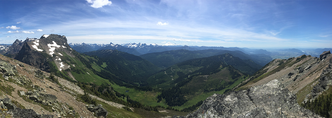 Mount Cheam Pano