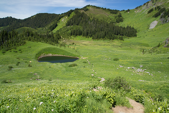 Spoon Lake at Mount Cheam