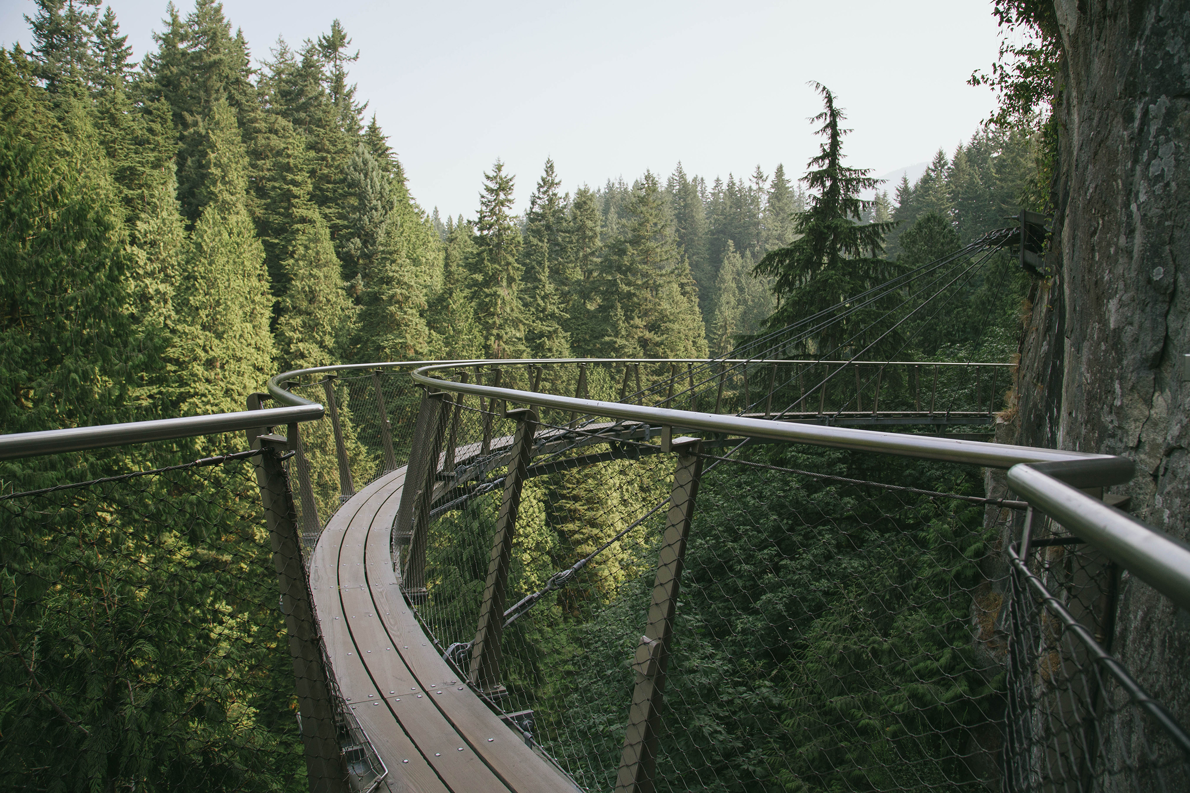 Cliff Walk Capilano suspension bridge
